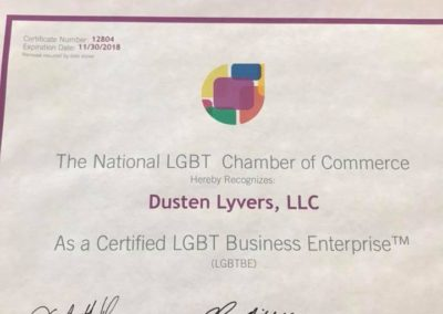 LGBT Certified Business