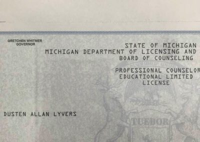 Counseling License